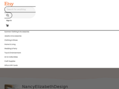 99e355fcf8fd8c Ravelry  Nancy Elizabeth Designs on Etsy - patterns