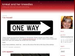 Ravelry: kmkat and her kneedles patterns